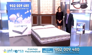 Colchon VIsco Medical en programa De Buena Ley